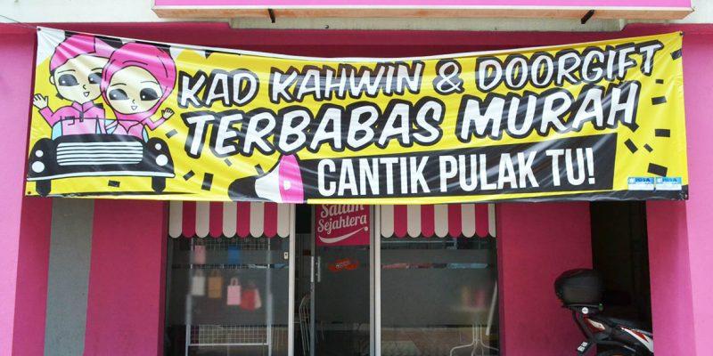 Banner Bunting Murah