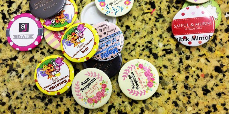 Button Badge Murah Printing