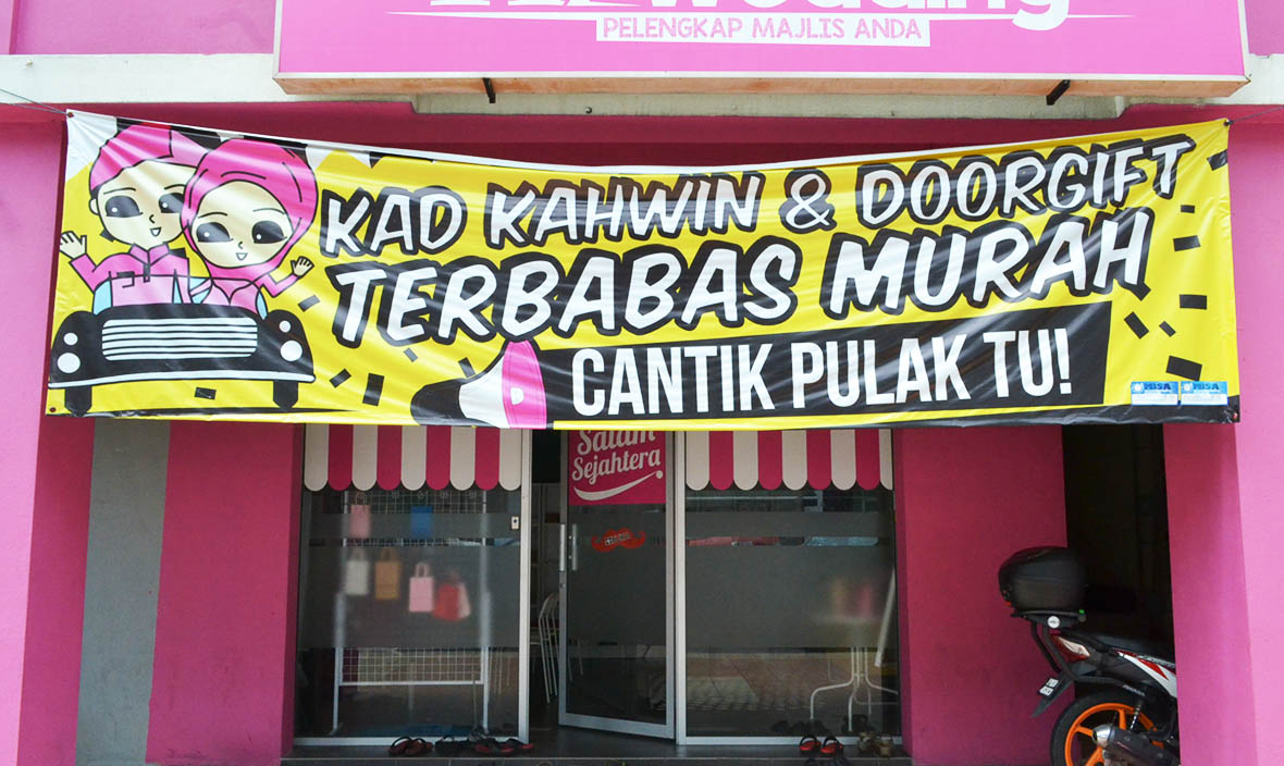 Banner Bunting Murah Stickiz
